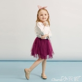 蓬蓬裙兒童3歲1女寶寶網紗裙子小嬰兒公主春秋短裙女童紗裙半身裙 1件免運
