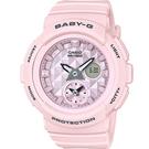 BGA-190BE-4A 粉  BABY-G 夏季粉紅海洋風運動錶