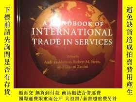 二手書博民逛書店AHandbook罕見of International Trad