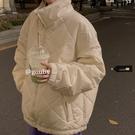 韓版寬鬆立領棉服上衣女2020年秋冬季新款加厚爆款工裝棉襖外套潮 黛尼時尚精品