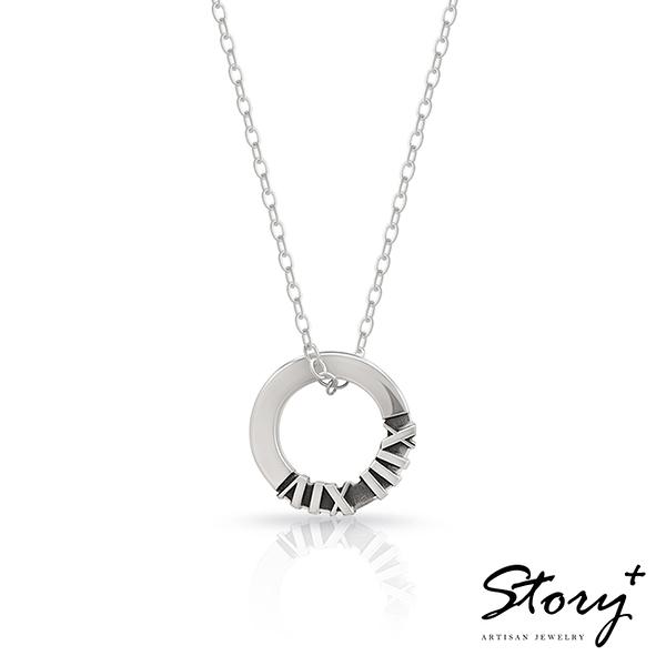 紀念日系列-COMPLETE訂製純銀項鍊(女款)《 SilverFly銀火蟲銀飾 》