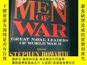 二手書博民逛書店Men罕見of War:Great Naval Leaders