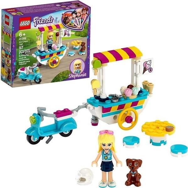 LEGO 樂高 Friends冰淇淋車41389建築套件(97件)