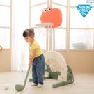 【JN.Toy】3合一多功能中型籃球架(小暴龍)【六甲媽咪】