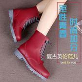 雨鞋女士時尚水鞋中筒膠鞋防滑成人雨靴韓國休閒平跟套鞋 九週年全館柜惠