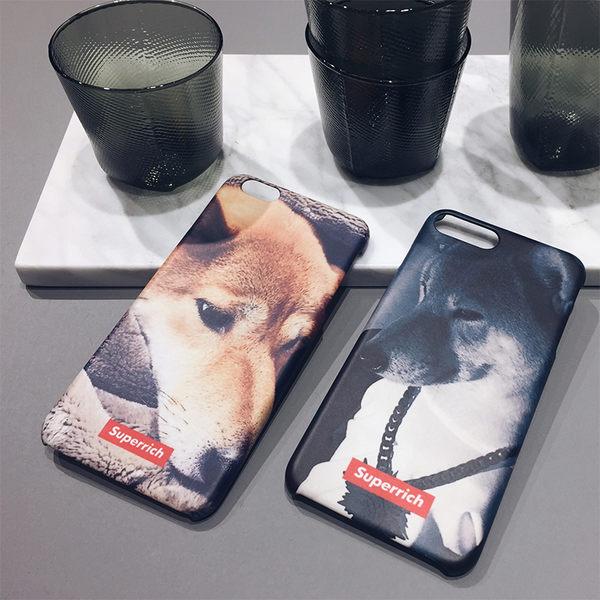 iPhone手機殼  獨家款.我愛柴犬05 磨砂硬殼/矽膠軟殼 蘋果iPhone7/iPhone6/iPhone5