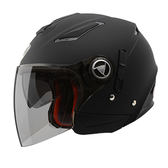 【東門城】THH T-396 素色 雙層鏡片 3/4罩安全帽 內襯可拆_免運