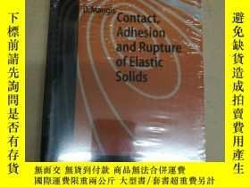 二手書博民逛書店Contact,罕見Adhesion and Rupture o