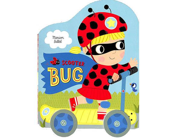 Scooter Bug 瓢蟲女孩的驚喜 輪子轉轉硬頁書