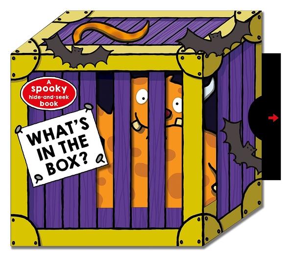【麥克書店】WHAT'S IN THE BOX:SPOOKY/硬頁拉拉書 《主題: 萬聖節》