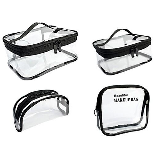 透明防水化妝包(1入)『STYLISH MONITOR』D021055