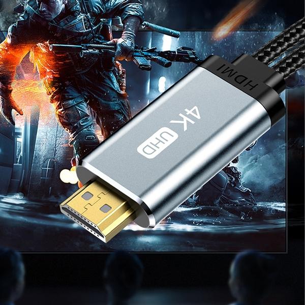 TOTU HDMI/Type-C電視HD音頻轉接器轉接線轉接頭電視線投影線 極速系列 200cm