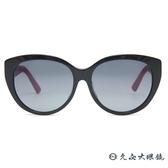 Dior 太陽眼鏡 Lady 1RF HZ9HD (黑-桃紅) 菱格壓紋 墨鏡 久必大眼鏡