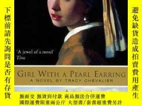 二手書博民逛書店Girl罕見With A Pearl EarringY364682 Tracy Chevalier Harpe