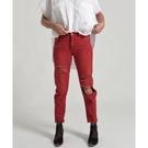OneTeaspoon 牛仔褲- AWESOME BAGGIES RED ENVY-女(紅)