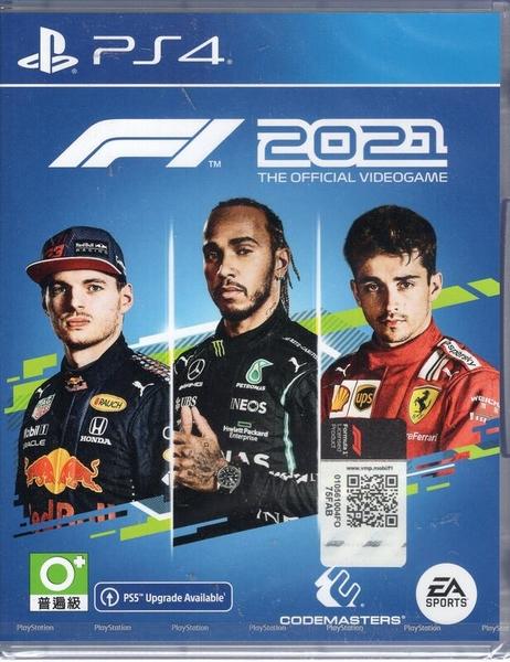 【玩樂小熊】現貨 PS4遊戲 F1 2021 一級方程式大賽 2021 中文版