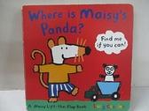【書寶二手書T1/少年童書_BWI】Where is Maisy's Panda?_Lucy Cousins
