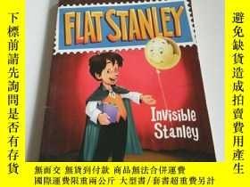 二手書博民逛書店FLAT罕見STANLEY.Invisible stanley(