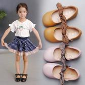 女童皮鞋新款韓版四季春秋豆豆鞋小學生演出兒童寶寶公主單鞋  遇見生活