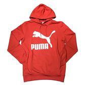 PUMA 基本 大LOGO 帽T 紅白 秋冬服飾 男 57907111-SPEEDKOBE-