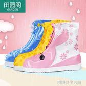 雨鞋套兒童腳套防水雨天防雨鞋套男女童學生下雨鞋套防滑加厚耐磨