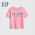 Gap女童 Gap x Disney 迪士尼系列短袖T恤 681336-粉色