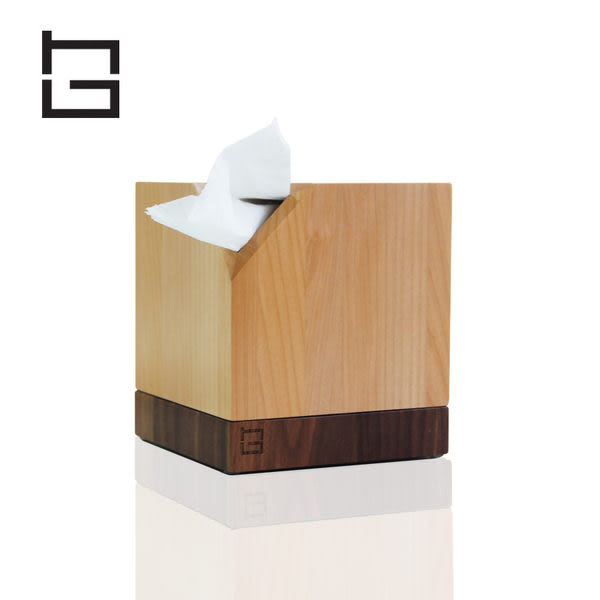 【HG】創意捲筒實木紙巾盒 (現貨+預購)