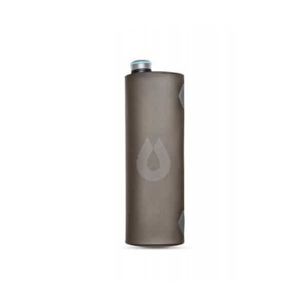 HydraPak Seeker 大容量軟式蓄水袋 3L 遠古灰