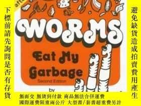 二手書博民逛書店Worms罕見Eat My GarbageY307751 Mary Appelhof Flower Press