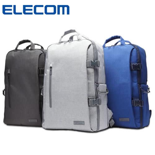 【加也】ELECOM DGB-S028 15.6吋 筆記型電腦包、單眼相機包 後背包