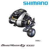 漁拓釣具 SHIMANO 20 BEAST MASTER 1000EJ [鐵板用電動捲線器] [送500元折價券]