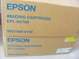 EPSON 原廠三合一碳粉匣S051068(EPL-N2700/2750)系列 /永保最佳列印品質(庫存出清)(裸包無紙盒)