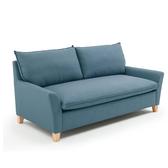 北歐沙發布藝小戶型北歐風格家具三人L型轉角簡約客廳創意jj