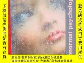 二手書博民逛書店Abnormal罕見Psychology (硬精裝) 【詳見圖】