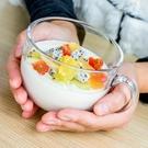 燕麥早餐杯牛奶咖啡玻璃杯子