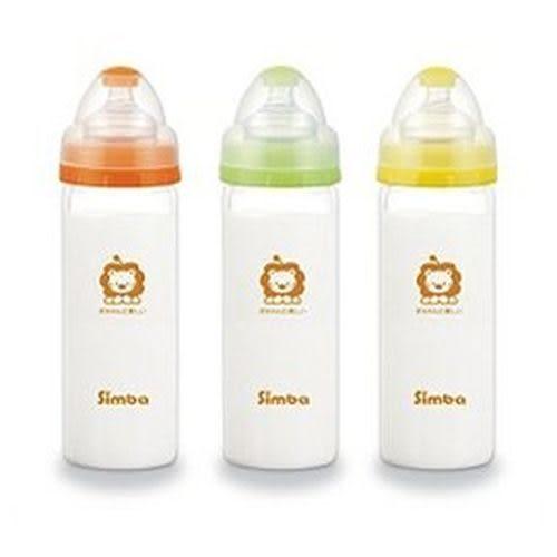 小獅王辛巴 超輕鑽寬口直圓玻璃大奶瓶-260ml (S6908)隨機出貨[衛立兒生活館]