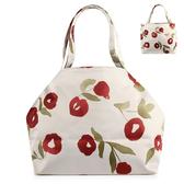 Sybilla 棉花朵朵圖案小手袋賈姬包(米色)000742