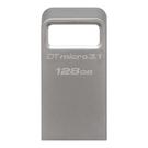 新風尚潮流 金士頓 隨身碟 【DTMC3/128GB】 128G 無蓋式 金屬外殼 內建式鑰匙環設計 USB3.1 五年保固