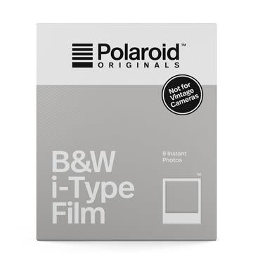 【過期品】Polaroid B&W Film for i-Type 黑白底片(白框4669)/2盒