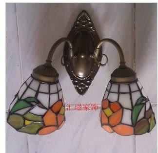 設計師美術精品館蒂凡尼燈飾燈具歐式床頭燈鏡前燈壁燈餐廳臥室過道節能燈廚房鐵藝