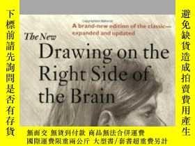 二手書博民逛書店The罕見New Drawing On The Right Side Of The Brain-右腦的新畫Y4
