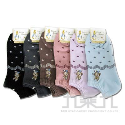 7861 比得兔織花船形襪22-24cm