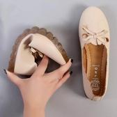 豆豆鞋 鏤空洞洞一腳瞪超軟鞋底夏季媽媽鞋護士軟底豆豆鞋單鞋練車奶奶鞋