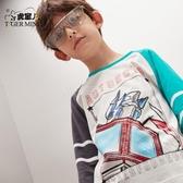t恤男童長袖純棉2020春秋款新款兒童韓版上衣打底衫薄洋氣中大童 滿天星