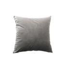 荷蘭絨素色抱枕套45x45cm-灰...
