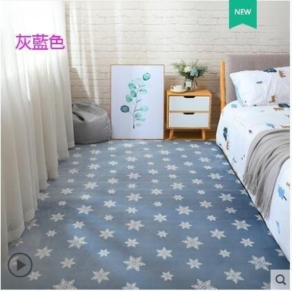 (50*160cm) 地毯客廳簡約現代茶幾毯滿鋪可愛床邊毯加厚榻榻米墊子