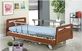 電動病床/ 電動床(鋼板結構 承重加強) 鋼板三馬達 柚木LM-31型 木飾造型板 贈好禮