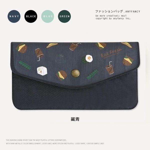 長夾-日本壽司尼龍錢包/手機包/手拿包-共4色-S600021-FuFu