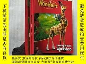 二手書博民逛書店罕見-Hill Reading Wonders 6本合售 看圖