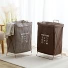 布藝可折疊臟衣籃手提收納籃浴室臟衣服收納筐臟衣簍洗衣籃 【母親節禮物】